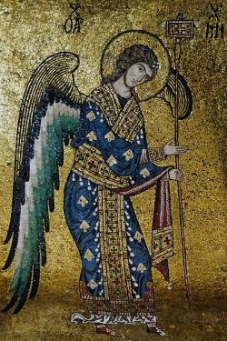 მთავარანგელოზი მიქაელი - მცველი მეფისა.