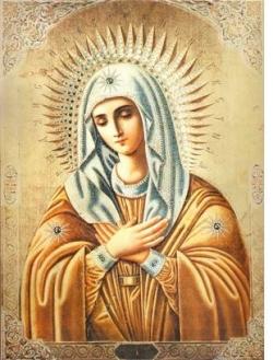 """ბორჯომში ყოვლადწმინდა ღვთისმშობლის მირონმდინარე ხატის ასლი-""""უმილენიე"""" ჩამოაბრძანეს - ამ ხატზე წმინდა სერაფიმ საროველი ლოცულობდა"""