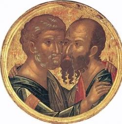 წმიდა დიდებულნი, ყოვლადქებულნი თავნი მოციქულნი პეტრე და პავლე