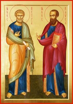 პეტრეპავლობა - თავთა მოციქულთა თაყვნისცემის ადგილნი