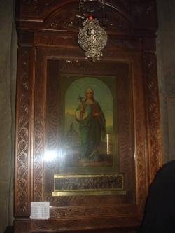 სამთავროს დედათა მონასტერში დაბრძანებულ წმინდა ნინოს ხატში ოცდაერთი წმინდანის წმინდა ნაწილია ჩაბრძანებული