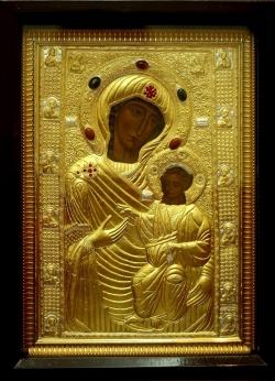 დაუჯდომელი საგალობელი დედოფლად წოდებულისა ივერიის ღმრთისმშობლის ხატისა სიხარულის მომნიჭებელისა