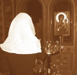 რწმენით აღვსილები, სასოებით ვლოცულობდით ბებიასეულ ხატთან
