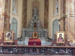 ბელგიაში მცხოვრებ ქართველთა სამრევლოს ეკლესია გადასცეს