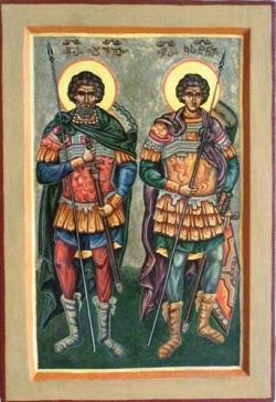 წმიდა მოწამენი დავით და კონსტანტინე მხეიძეები