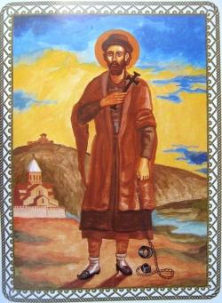 წმიდა მოწამე ევსტათი მცხეთელის ტროპარ-კონდაკი