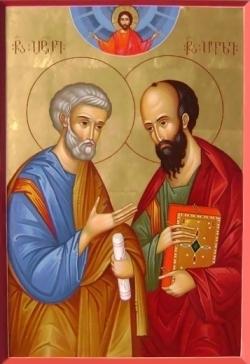 ლოცვა წმიდათა თავთა მოციქულთა პეტრესა და პავლეს მიმართ