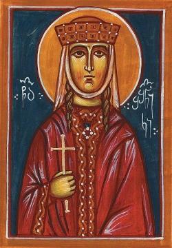 წმინდა შუშანიკი 475 წლის 17 (30) ოქტომბერს გარდაიცვალა.