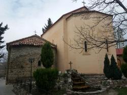 იოანე ნათლიცმცემლის შობის დღეს, ტაძარი თვით საქართველოს კათოლიკოს პატრიარქმა - ნიკოლოზმა აკურთხა
