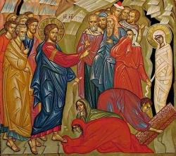 მართალი ლაზარეს მკვდრეთით აღდგინება