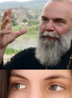 მამაჩემი მღვდელია. მე მამას ვგავარ. ზუსტად მისნაირი თვალები მაქვს