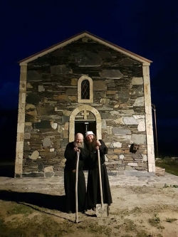 28 აგვისტოს, მარიამობას ზემო სვანეთში 13 ასურელი მამის ტაძარი და მამათა მონასტერი იკურთხება