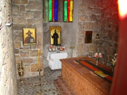 როგორ გადაარჩინა წმინდა ეფრემმა კიბოსგან მარია გალანოპულო