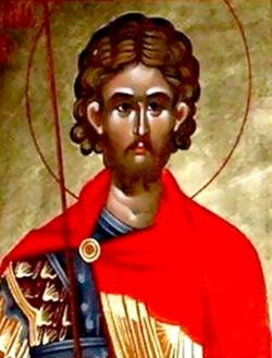 წმინდა მერკვირი უდრტვინველად დაითმენდა წამებას