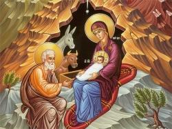ქრისტეშობა - ხორციელად შობა უფლისა ღმრთისა და მაცხოვრისა ჩუენისა იესუ ქრისტესი