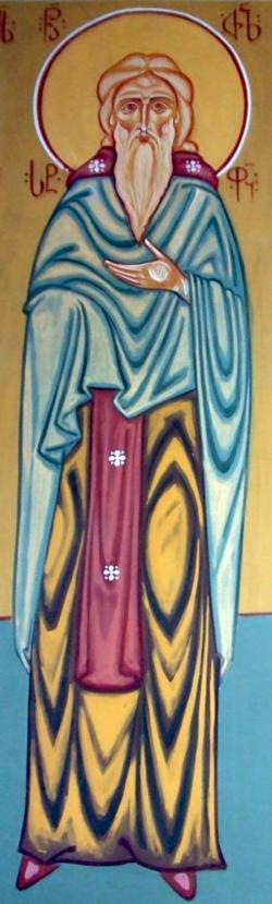 წლითი წლად წმიდა ძვალნი მისნი აღმოვიდოდნენ ეკლესიასა შინა, ვითარ წმიდა შიოსნი