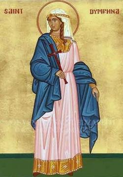 ქალწულმოწამე დიმფნა გეელელი და მღვდელმოწამე გერებერნ (გერებარნ) მღვდელი, გეელელი (+დაახლ. 620-640) - ხსენება 15 (28) მაისს