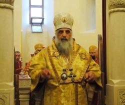 """""""ვინც დღეს ეპისკოპოსია და მართალთა ცხოვრებით ცხოვრობს, ჭეშმარიტად ჯვარცმულია"""""""