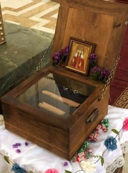 28 თებერვალს ქეთევან წამებულის წმინდა ნაწილებს ავჭალის ქეთევან წამებულის ტაძარში მიაბრძანებენ