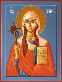 მთელი საქართველო წმინდა ნინოს მადლით იქნა მოქცეული