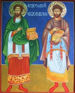 ტროპარ-კონდაკი კოზმა და დამიანესი ასიელთა უვერცხლოთა მკურნალთა
