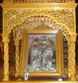 წმინდა კონსტანტინესა და ელენეს სახელობის მაცხოვრის ხატის სასწაული
