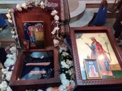 1-8 ივლისს წმინდა დიდმოწამე ქეთევან დედოფლის წმინდა ნაწილები თემქის წმინდა ანდრია პირველწოდებულის სახელობის ეკლესიაში იქნება დაბრძანებული