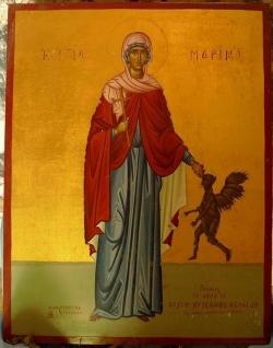 წმიდა დიდმოწამე მარინე (IV)