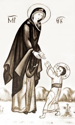 უფლის დედის წყალობა არ მოჰკლებოდეს სრულიად საქართველოს!
