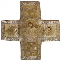 დაფარნა იმ ლოდის სიმბოლოა, რომელიც ქრისტეს საფლავს მიაფარეს