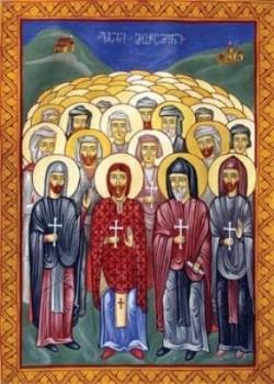 დუდიყვათსა და პაპათში (თანამედ. თურქეთი) 300 მხედარი, მღვდელნი და ყოველნი მართლმადიდებელნი ლაზნი ქრისტეს სარწმუნოებისთვის მუსულმანთაგან წამებულნი (XVII-XVIII)
