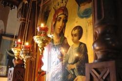 ჯიხეთის ღვთისმშობელი - დედაო ღვთისაო მარიამ, მომიხსენე მე ცოდვილი, ოდეს მოვიდეს ძე შენი დიდებითა მისითა