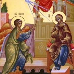"""""""გიხაროდენ, მიმადლებულო, უფალი შენთანა""""..."""