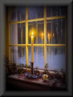 რა დატვირთვა აქვს შობის ღამეს სახლის ფანჯრებთან დიდი კელაპტრის დანთებას?