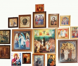 სამლოცველო კუთხე - სიწმინდეთა თაყვანისცემის ადგილი სახლში