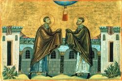 წმინდა სასწაულთმოქმედ კოზმასა და დამიანეს ცხოვრება
