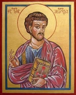 """წმინდა მოციქული და მახარებელი ლუკა - პავლე მოციქული მას """"საყვარელ მკურნალს"""" უწოდებს"""