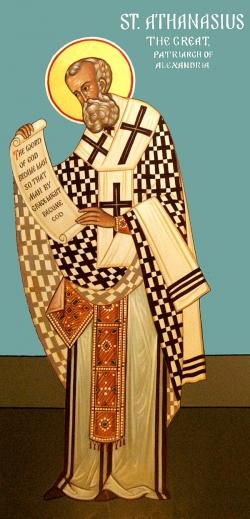 წმინდა ათანასე დიდის, ალექსანდრიის მთავარეპისკოპოსის ტროპარ-კონდაკი