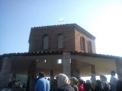 14 სექტემბერს ქარმელის მთაზე მდებარე ბერთა სავანეში ყოველთა ქართველთა წმინდანთა ხსენების დღეს აღნიშნავენ