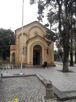 ვანდალური ქმედება ბათუმის წმინდა ბარბარეს ტაძარზე