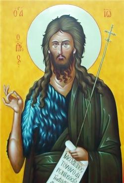 იოანე ნათლისმცემელი - წინამორბედი უფლისა, რომელმაც კაცობრიობა უფალთან შესახვედრად მოამზადა