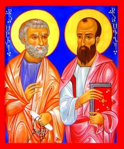 პეტრე და პავლე - სარწმუნოების ორი ბოძი - ორი დიამეტრულად განსხვავებული ხასიათი