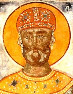 ტროპარ-კონდაკი კეთილმსახურისა მეფისა დავით აღმაშენებლისა