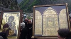 მესტიის საკათედრო ტაძარში აწყურისა და ივერიის ყოვლადწმინდა ღვთისმშობლის ხატები 15 ივლისამდე იქნება დაბრძანებული