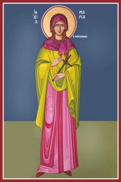 წმიდა მენელსაცხებლე, მოციქულთასწორი მარიამ მაგდალინელი (I)