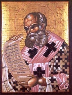 წმინდა ათანასე დიდი, ალექსანდრიის მთავარეპისკოპოსი- ხსენება 2 (15) მაისს