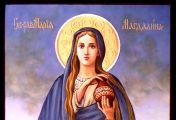 მარიამი მოწიწებით იდგა არა მარტო სასწაულმოქმედი, სახელგანთქმული და დიდებით შემოსილი მაცხოვრის, არამედ დამცირებული, პატივაყრილი, სამარცხვინო ჯვარზე გაკრული ქრისტე ნაზარეველის ფეხებთან