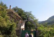 ფერისცვალების სადღესასწაულო წირვა ბარაკონის ღვთისმშობლის მიძინების ტაძარში