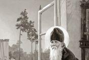 მართალნი ზეციურ სასუფეველში პეტრე მოციქულს შეჰყავს, ცოდვილნი კი თვით ყოვლადწმინდა ღვთისმშობელს