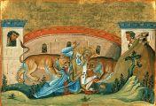 ქრისტეს მიერ კურთხეული ყრმა - წმიდა ეგნატე ღმერთშემოსილი